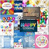 Greeting Cards Pack of 20 Mixed Happy Birthday Premium Greeting Cards