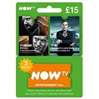 Entertainment 3 month NOW TV Entertainment UK Pass