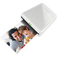 Polaroid Polaroid ZIP Wireless Mobile Photo Mini Printer – Compatible with iOS and Android, NFC and Bluetooth Devices - White