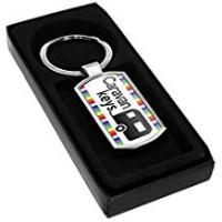 Caravans Caravan Keys Keyring Gift Idea Club Dad Mum Holiday Travel Present Fob 5
