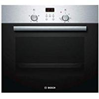 Ovens Bosch built-in or built under single oven electric Stainless steel HBN331E4B