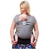 Baby Slings [Sponsored]Premium Baby Carrier | Neutral Grey | One Size Fits All | Cozy & Soothing For Babies | Suitable for Newborns, Infants & Toddlers | Cotton/Spandex Comfort Fabric |100% Infinity Guarantee | Ideal Gift