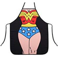 Gift-hero Gifts For Women Birthdays LKOUS Funny Apron Marvel Superhero Novelty Apron Kitchen Cooking BBQ Apron, Superwoman
