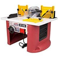 Router Tables Lumberjack RT1500 1500W Bench Top Router Table with Intergrated Router
