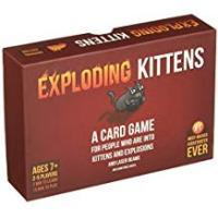 Cards Exploding Kittens: A Card Game About Kittens and Explosions and Sometimes Goats