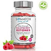 Diet Pills SOMATOX RASPBERRY KETONE Pure Whole Fruit - Natural Weight Loss • Burn Fat • Slimming Diet Pills • Appetite Suppressant ★ Max Strength 700mg / 60 Veg Caps ★ Made In UK