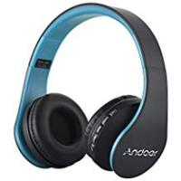 Andoer Headset Pcs Andoer® Wireless Stereo Bluetooth 3.0 + EDR Headset Digital 4 in 1 Multifunctional Earphone Headset & Wired Earphone with Mic MP3 Player TF Music FM Radio for Smart Phones Tablet PC Notebook