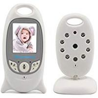 Consumer Video Cameras BW New 2.0 inch Wireless Digital Baby Monitor Camera Audio Video Security Baby Monitor with 8 LED Night Vision, 2 Way Talk, Temperature Monitoring Built-in Lullabies