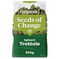 Pasta Seeds of Change Organic Spinach Pasta Trottole, 500g