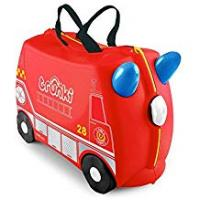 Action Baby Carriers Trunki Children's Ride-On Suitcase: Frank Fire Engine (Red)