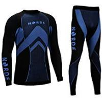 Mens Underwears THERMOTECH NORDE Functional Thermal Underwear Breathable Active Base Layer SET