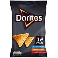 Chips Doritos Variety Pack Tortilla Chips, 30 g (Pack of 12)
