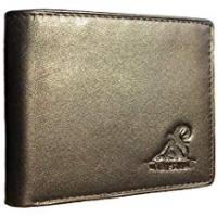 Wallets Mt. Eston RFID Blocking Trifold Bifold Mens Leather Wallet, 18 Pocket Extra Capacity, High-End Build, Gift Box For Men
