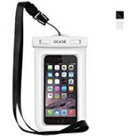 Case For Iphone 6 Waterproof Iphone 4 Cases OCASE Waterproof Phone Case, Universal Waterproof Bag Dry Bag With Neck Strap for Apple iPhone 6 6S, 6S Plus, SE 5S, Samsung S7 Edge, S6 ,Note 5, HTC LG Sony Nokia Motorola - White