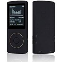 Mp3 Players [Sponsored]HccToo Music Player 16GB Portable Lossless Sound MP3 Player 45 Hours Playback (Black)