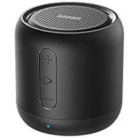 Speakers Anker SoundCore Mini Super Portable Bluetooth Speaker Music Box with 15 Hours Playtime, 20 Metres Bluetooth Range and Strong Bass (Black)