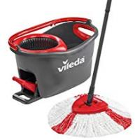 Mops Vileda Easy Wring and Clean Turbo Microfibre Mop and Bucket Set