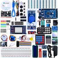 Kits [Sponsored]Elegoo Mega 2560 Project The Most Complete Ultimate Starter Kit w/TUTORIAL, MEGA 2560 controller board, LCD1602, Servo, Stepper Motor for Arduino Mega 2560