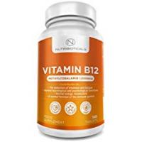 Vitamins Vitamin B12 Methylcobalamin 1000mcg 180 Tablets (6 Month Supply) by Nutribioticals | Contributes to the reduction of tiredness and fatigue, normal function of the immune system & red blood cell formation - AMAZON'S CHOICE for