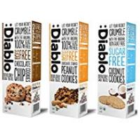Snacks For Diabetics Mixed Flavours Luxury Cookies Biscuits - No Added Sugar Free Diablo (Pack of 3)