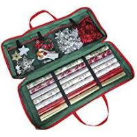 Holiday Gifts Christmas Gift Wrap Fabric Storage Bag (82 x 34 x 13 cm) . For Paper, Tags & Bows
