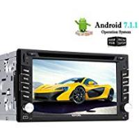 Dual Electronics Car Stereo Head Units EinCar Octa Core Android 7.1 Car DVD Player 6.2'' Touch Screen Double Din Car Stereo Radio Receiver with GPS Navigation Head Unit System Support Bluetooth/1080P/WiFi/Airplay