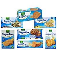 Snacks For Diabetics Gullon Sugar Free Biscuits Mixed Selection Pack x 7 packs