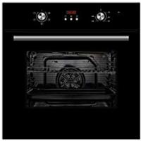 Ovens [Sponsored]Cookology Black Built-in Electric Single Fan Oven & Clock | COF605BK