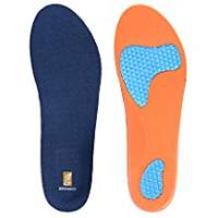 Sole Massaging Insoles For Flat Feets SESSOM&CO Sports Insoles with Arch Support for Walking Hiking, Insoles for Women & Men