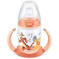 Disney Infant Bottles NUK First Choice Sippy Cup, Leak-Proof Design with Soft Silicone Spout, 6-18 Months, Disney Winnie the Pooh & Tigger, 150ml, 1 Count