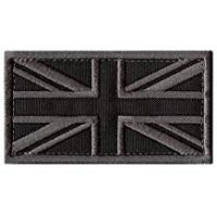 Patch Military ACU Great Britain UK Union Jack Flag Subdued Morale Tactical Badge Army Embroidery Touch Fastener Patch