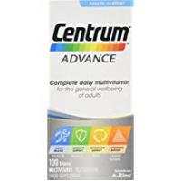 Vitamins Centrum Advance Multivitamin Tablets, Pack of 100