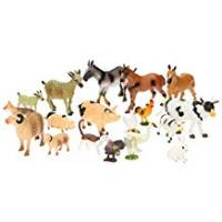 Animals Farm Animal Toys Set Of 20 Pieces Kids toddlers playset