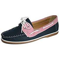 Boat Coolers Ladies Coolers Faux Nubuck Leather Loafer Lace Up Boat Deck Shoes
