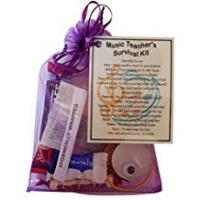 Music Teachers Music Teacher Survival Kit Gift (Great present for Christmas, end of year or just because...) Music tutor gift, gift for Music teacher, Music tutor present, present for Music tutor, thank you gift for Music teacher