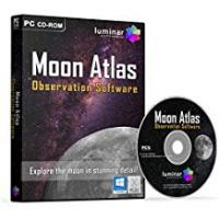 Survey Softwares Moon Atlas - 3D Moon Observation/Survey Astronomy Software (PC & Mac) - BOXED AS SHOWN