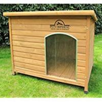[Sponsored]Pets Imperial® Large Insulated Wooden Norfolk Dog Kennel With Removable Floor For Easy Cleaning