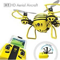 Long Range Drone HASAKEE H1 FPV RC Drone with HD Live Video Wifi Camera and Headless Mode 2.4GHz 6-Axis Gyro Quadcopter with Altitude Hold and One-Button Take off/Landing,Good for Beginners