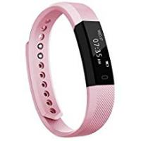 Woman TOOBUR Slim Fitness Tracker, Waterproof Activity Tracker with Pedometer Calories and Sleep Monitor, Step Counter Wristband Watch for Women Men Kids