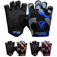 Gyms RDX Gym Weight Lifting Gloves Workout Fitness Bodybuilding Crossfit Breathable Powerlifting Wrist Support Training Exercise