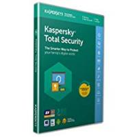 Antivirus [Sponsored]Kaspersky Total Security 2019 | 3 Devices | 1 Year | PC/Mac/Android | Activation Code by Post
