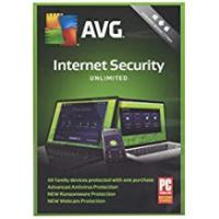 Antivirus AVG Internet Security 2018 Unlimited - 2 Year Unlimited Devices (PC/Mac/Android)