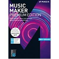 Beat Making Softwares MAGIX Music Maker – 2018 Premium Edition – The audio software with more sounds, instruments and creative options [Download]