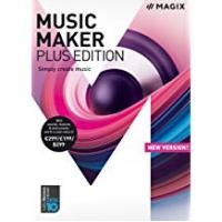 Beat Making Softwares MAGIX Music Maker – 2018 Plus Edition – Produce, record and mix music [Download]
