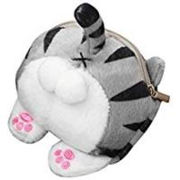Butts Purse Bag,TUDUZ Cute Cat Butt Tail Plush Coin Purse Change Purse Bag Handbag Crossbody Bag Shoulder Bags Purse Travel Bag