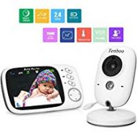 Baby Monitor With Temperature Nights Baby Monitor with Camera Video Baby Monitor Wireless Tenboo 3.2