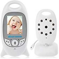 Baby Monitor With Temperature Nights iLifesmart White VB601-1 2.4G Wireless Baby Video Monitor with Digital Camera, 2.0 Inch Screen Night Vision & Two-Way Talk LCD Display Temperature Monitor