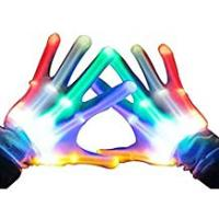 Birthday Gifts For 12 Year Old Girls TOP Gift LED Flashing Gloves - Novelty Toys - Best Gifts
