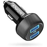 Charger Usbs Car Charger [UPGRADED] Anker PowerDrive 2 Elite, Ultra-Compact 24W Dual Port Car Charger with PowerIQ Technology for Apple, Samsung, and other iOS or Android Mobile Phones and Tablets