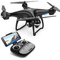 Long Range Drone Holy Stone HS100 FPV RC Drone with Camera Live Video and GPS Return Home Quadcopter with Adjustable Wide-Angle 720P HD WIFI Camera- Follow Me, Altitude Hold, Intelligent Battery, Long Control Distance